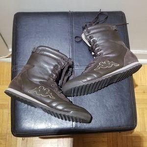 Kappa Waterproof Leather & Suede Hi Tops (Size 7)